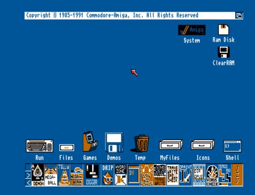 Εγκατάσταση ClassicWB σε πραγματική Amiga μέσω WinUAE