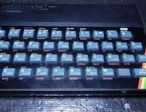 ZX Spectrum αλλαγή μεμβράνης – Faceplate