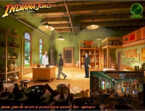 Indiana Jones and the Fate of Atlantis Special Edition Demo 2.0 released!